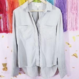 Anthropologie Cloth & Stone Ashby Button Down